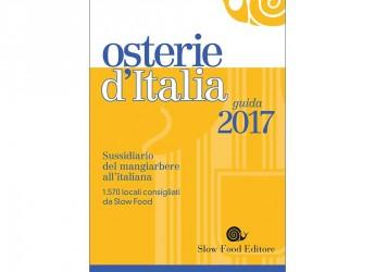 """A Cesena la presentazione regionale della guida 2017 """"Osterie d'Italia"""""""