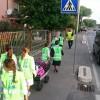 Gambettola (FC). Prosegue l'iniziativa del piedibus per gli studenti della scuola primaria.