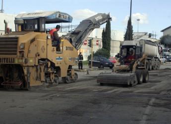 Viserba: proseguiranno per tutta la settimana i lavori per la riasfaltatura di via Mazzini