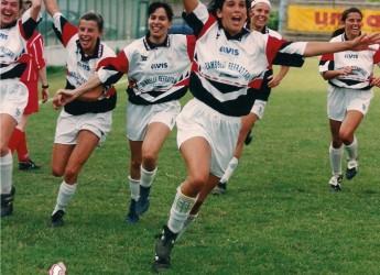 Emilia Romagna. Lugo: a vent'anni dalla conquista della Coppa Italia della squadra femminile di calcio.