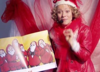 Savignano sul Rubicone. Il Gigante Buono inaugura il Natale dei bambini nel Rubicone.