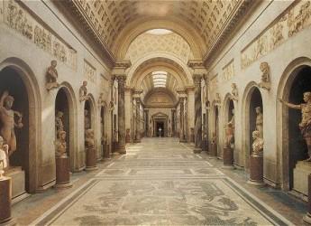 Il Braccio Nuovo dei Musei Vaticani torna a splendere della luce palpitante del Canova