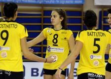 Pallavolo femminile di serie A2. Prima, bruciante sconfitta per la 'Battistelli' di  San Giovanni in M.