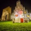 Rimini, dal Gruppo Hera l'albero di Natale che nasce da arte e rifiuti
