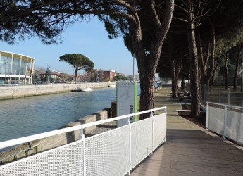 Bellaria- Igea Marina: inaugurata la nuova 'passeggiata' lungo il porto canale