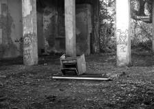La Rimini che non c'è più.La corderia di Viserba, complesso industriale ora in disuso.