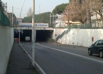 Illuminazione obsoleta. Riccione: intervento al sottopasso da Verazzano, con più luce e più risparmio energetico.