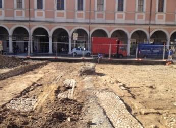Cesena. Piazza della Libertà: Comune e associazioni fanno il punto sull'andamento dei lavori e sugli interventi nell'area.