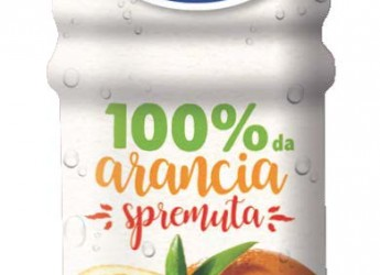 Con Valfrutta BIO pesca italiana  e Yoga 100% da arancia spremuta, la buona frutta protagonista vending.