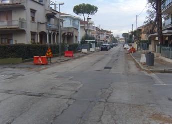 Interventi di messa in sicurezza. Riccione: iniziano i lavori in viale Veneto e in viale Malta.