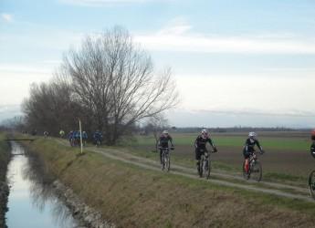 Lugo di Romagna. 15a  Gran fondo di mountain bike 'Tre fiumi di Romagna – Memorial Gurioli Adriano'.