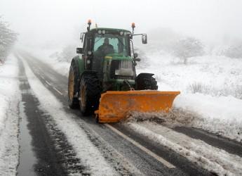 Cesena.Nuovo allerta neve: distribuiti 400 q di sale. Protezione civile anti ghiaccio nelle zone sensibili.