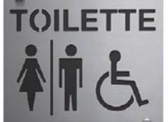 Bassa Romagna.Casola Valsenio: nuovi servizi igienici pubblici ad uso anche dei disabili.