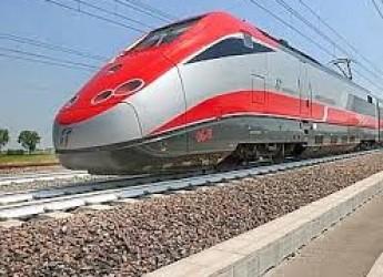 Emilia Romagna. Sosta a Cesena del treno ad Alta velocità Monaco-Rimini. La soddisfazione dei Sindaci.