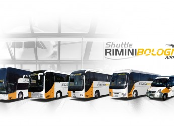 Emilia Romagna. Riccione collegata direttamente  all'aeroporto 'Marconi' di Bologna via shuttle.