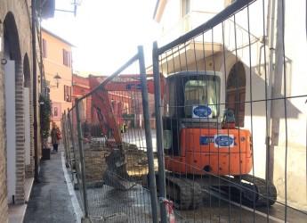 Emilia Romagna. Santarcangelo d/R: lavori nel tratto di via Ruggeri compreso tra via Saffi e Del Platano.