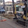 Emilia Romagna. Riccione. Partiti i lavori per la nuova rete idrica dei viali Ceccarini e D'Annunzio.