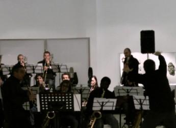 Emilia Romagna. Faenza: concerto al Museo di scienze naturali della 'Sarti big band art ensemble'.