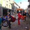 Lugo. Partono le feste di carnevale al ghetto di Lugo. Carri allegorici, coriandoli e giochi.