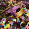Forlì. Gran festa di Carnevale con 'PiazzaInFesta'. Sfilata di carri allegorici e di gruppi mascherati.