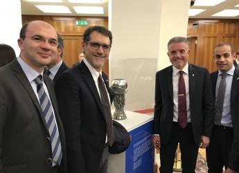Lancio ufficiale a Roma degli Europei Under 21 del 2019.Definito anche  il Comitato di coordinamento.