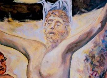 Giornate di Pasqua. Ardea (Rm): la Crocifissione di Guadagnuolo esposta per la Settimana Santa.