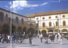 Ravenna.Edifici pubblici del forese:  manutenzione per il centro Santo Stefano e a San Pietro in Vincoli.