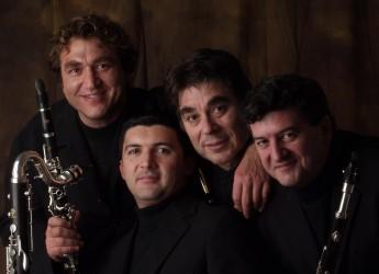 Emilia Romagna. Fusignano. Chiude la rassegna 'Suono antico' il Quartetto italiano di clarinetti.