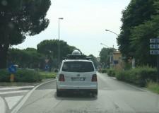 Riminese. Riasfaltature in corso in via San Paolo, con  traffico interrotto, e in via Marignano.
