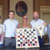 Forlì. Ricevuto in Municipio il Circolo scacchistico. Il sodalizio s'è meritata la promozione in Serie A.