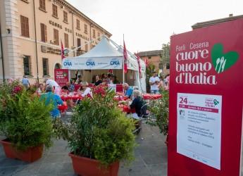 Emilia Romagna. Cesenatico  rientra nel ' Cuore buono d'Italia'. Alla Festa artusiana, a Forlimpopoli.