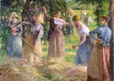 Forlì: 'Romiti in festa'. Con i mestieri contadini d'un tempo. Raccolta del fieno, mietitura ed aratura.