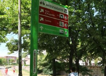Rimini. Nasce il sistema integrato segnaletico di rete. Bicipolitana, un progetto di mobilità sostenibile.