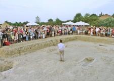 Lugo. In centinaia all'open day presso gli scavi di Zagonara, alla riscoperta dell'omonimo castello.