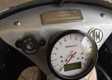 Ravenna. Moto costruita del ravennate Massimo al Fuchs workshop, in mostra all'Eicma.