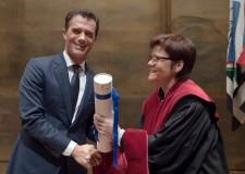 Friburgo. Dottorato Honoris causa per Sandro Gozi,sottosegretario alle Politiche e agli Affari europei.