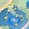 3BMETEO.COM: 'Vortice invernale con neve a bassa quota'. Neve spinta fin sull'Emilia Romagna.