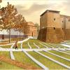 Rimini. Piazza Malatesta: aggiudicati i lavori per realizzare il secondo lotto 'Giardino del Castello'.