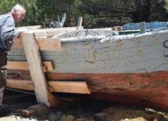 Cesenatico. Vento del Mediterraneo: le barche dell'Adriatico  di Luciano Keber ( 3 dicembre /14 gennaio).