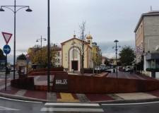 Rimini. Via Emilia – Popilia: s'inaugura la nuova piazza. Terminati i lavori, la posa degli arredi.