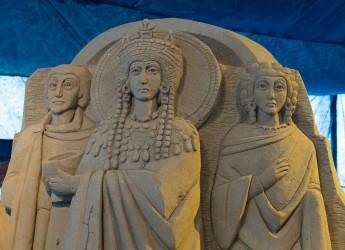Marina di Ravenna. Il bel presepe di sabbia che si fa da dieci anni, sabato 16 l'inaugurazione.