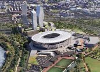 Non solo sport. Auguri a tutti di Buon 2018. Ma con l'auspicio di altri nuovi stadi nella calza della Befana.