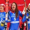 Non solo sport. Nevi azzurre: Goggia, Brignone e Fanchini nell'ordine a Bad sul podio della discesa libera.