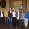 Forlì. In Municipio il pilota Nannini. Già campione di go kart e promessa dell'automobilismo.