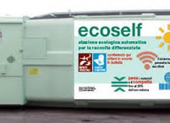 Rimini. Novità nella raccolta dei rifiuti della zona extraurbana. Il 'supercassonetto' Ecoself.