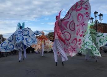Cesenatico. Quest'anno doppio appuntamento per festeggiare il Carnevale.Le 'farfalle in danza'.