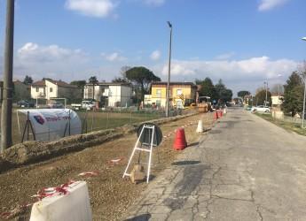 Lugo. In fase d'ultimazione i lavori per i nuovi parcheggi: nelle vie Madonna delle stuoie e Rivali.