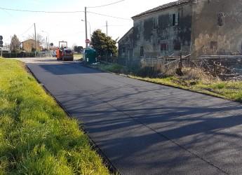 Cesenatico.Interventi di asfaltatura zona Ponente e via Brusadiccia. Da chiudere entro fine mese.
