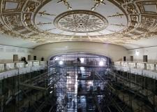 Rimini. Il teatro Galli ha la sua volta. Riapparsa nel suo splendore, come Poletti la volle e la disegnò.