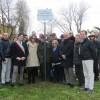 Rimini.Cerimonia di intitolazione a Gianni Fabbri della rotonda in via Covignano/ via Santa Cristina.